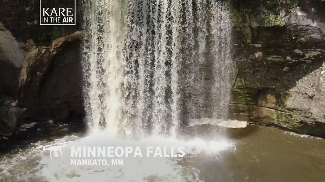 KARE in the Air: Minneopa Falls