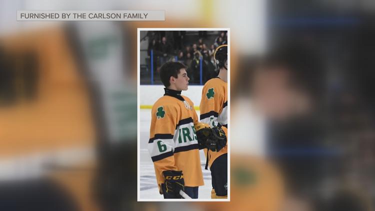 Rosemount hockey team rallying around player with spinal cord injury