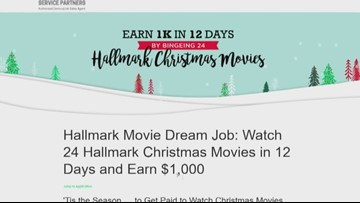 Sweepstakes paying $1,000 to watch Hallmark movies  deceptive