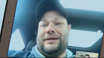 Driver shot at on I-35 shares his story