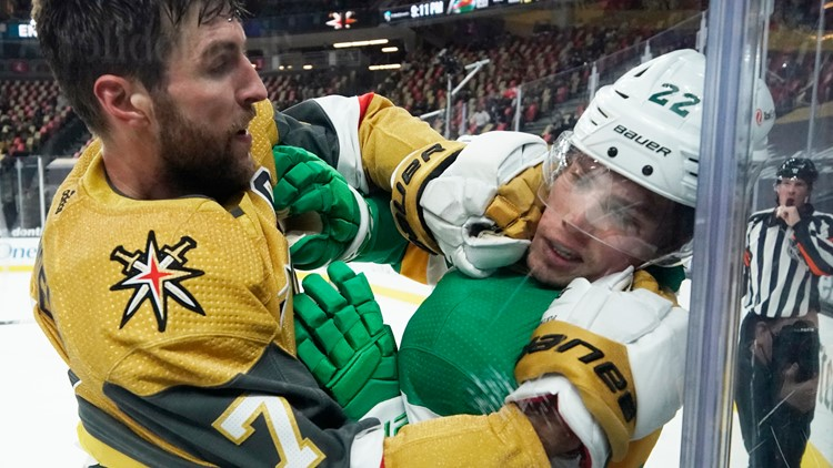 Busted: Wild lose 5-1 to Golden Knights, swept in Sin City