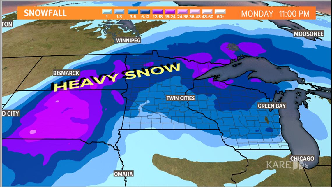 Last winter storm of 2019 takes aim at Minnesota