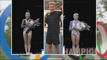Minnesotans earn three of eleven spots on US World Gymnastics Teams