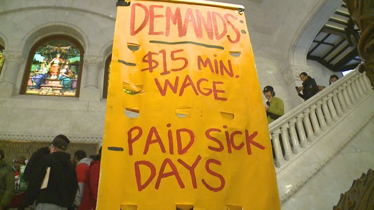 St. Paul to vote on raising minimum wage