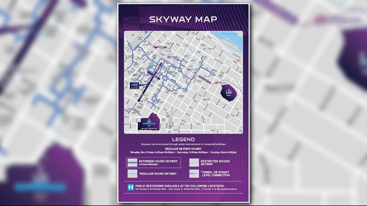 Minneapolis skyways to extend hours for Super Bowl | kare11.com on