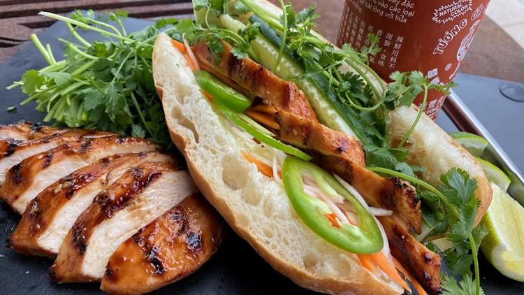 KARE in the Kitchen: Vietnamese-Style Grilled Chicken Sandwich (Banh Mi)