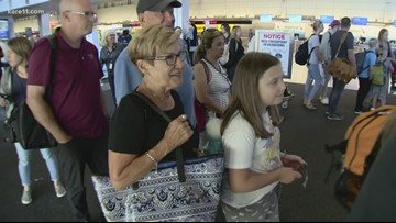 MSP security checkpoint changes trigger long lines and wait times
