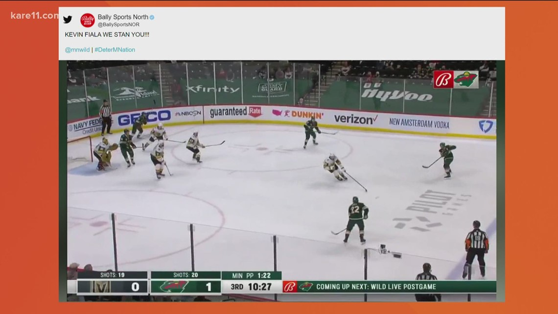 Wild force Game 7 in the series against the Knights