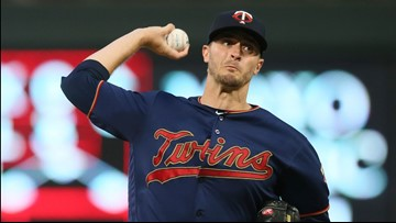 Odorizzi, Twins end skid, top Indians for AL Central lead