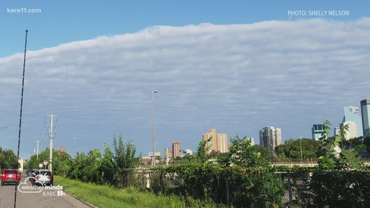 What were those wide, flat clouds on Thursday?