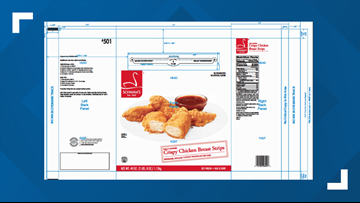 Koch Foods recalls breaded poultry products citing misbranding and undeclared allergens