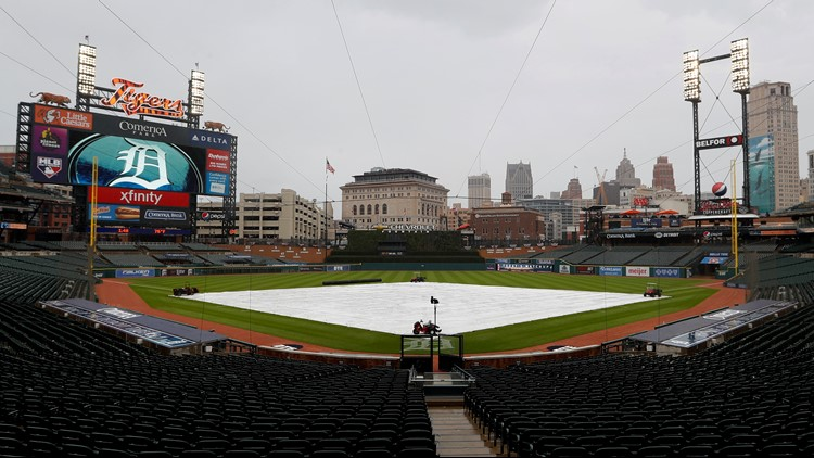 Twins and Tigers rained out, doubleheader on July 16