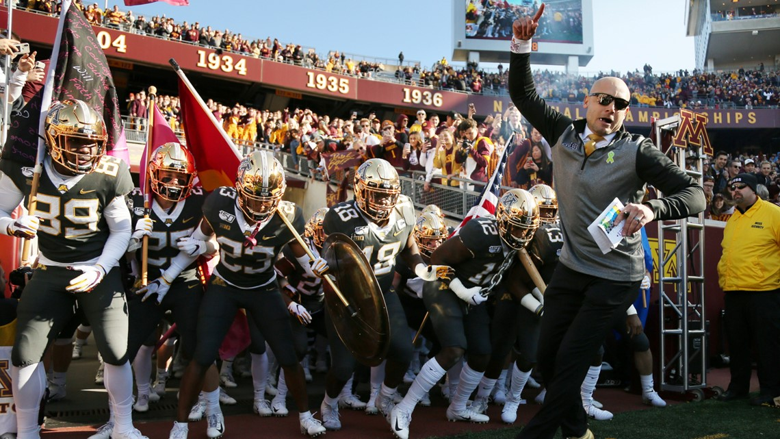 Gophers Will Open The Season Oct 24 Against Michigan Kare11 Com
