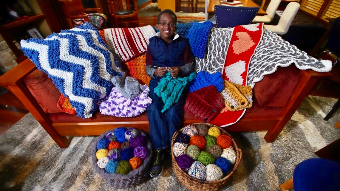 11-year-old Wisconsin boy is crocheting prodigy