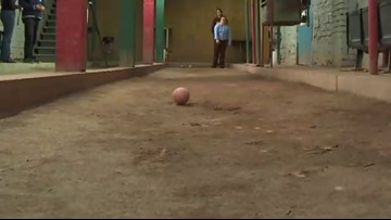 Local bocce ball player preparing for international competition