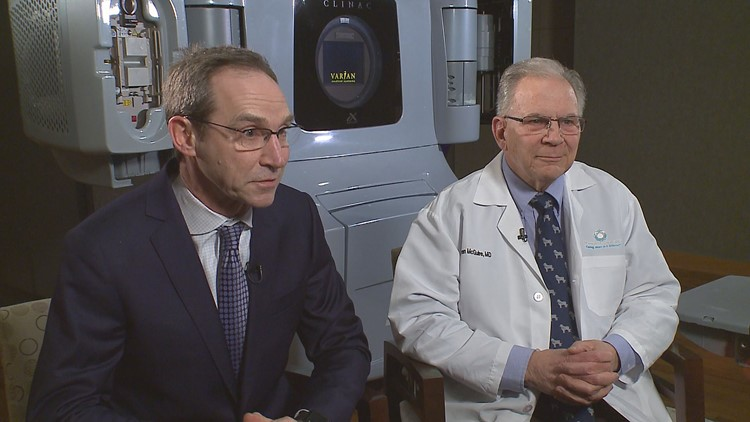Randy Shaver's doctors: urologist and surgeon Chris Knoedler out of Metro Urology, and radiation oncologist Warren McGuire.