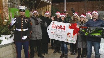 Give 11: Donate to Toys for Tots