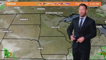Late morning weather 8-22-2019