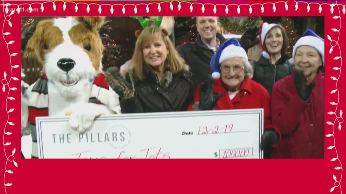 Toys for Tots appearances on KARE 11 for 2019