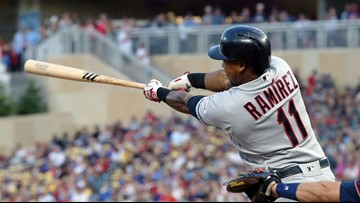 Indians hold off late Twins rally