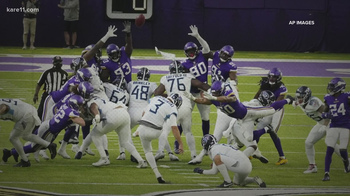 Vikings suspend in-person activities after Titans players, staff test positive for COVID