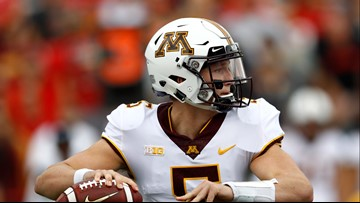 Minnesota QB Annexstad out indefinitely with foot injury