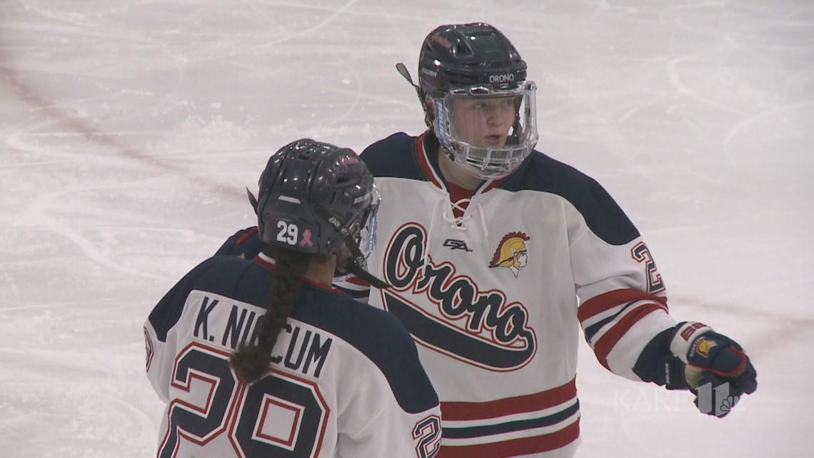 Niccum sisters lead Orono girls hockey