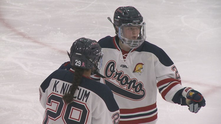 Niccum sisters lead Orono girls hockey