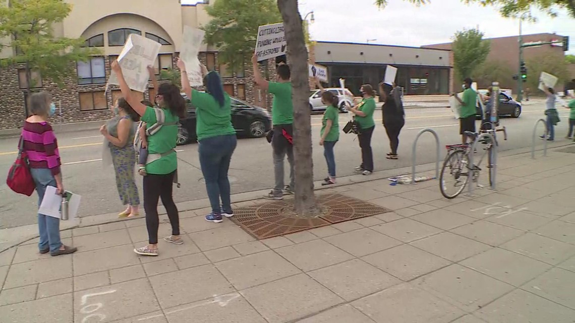 Hennepin librarians want staff cuts restored