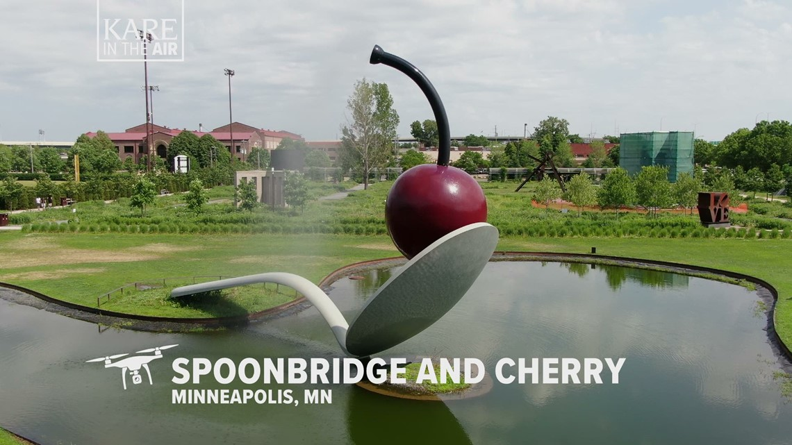KARE in the Air: Spoonbridge and Cherry