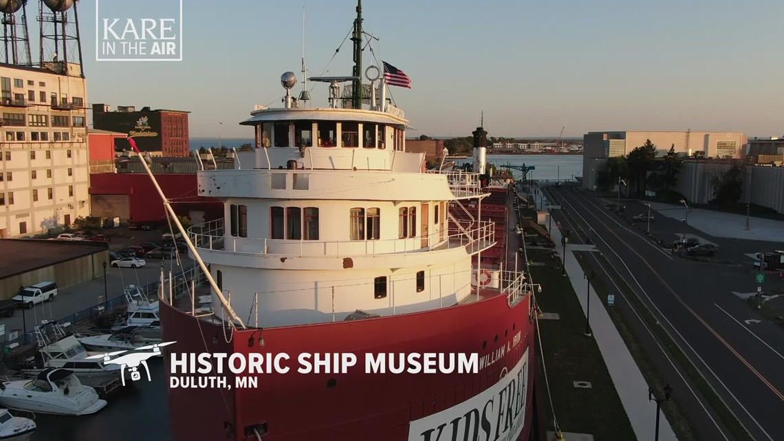KARE in the Air: Historic Great Lakes ship SS William A. Irvin