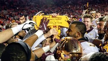 Gophers shoot for Big Ten title game, Badgers ache for axe