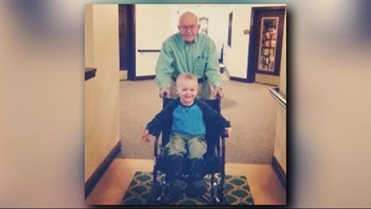 Emmett visits Erling at his senior community