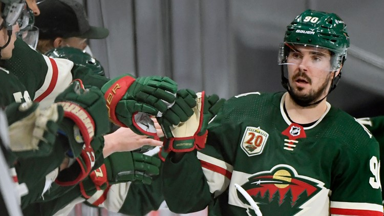 Talbot, Wild blank Blues for record 11th home win in row