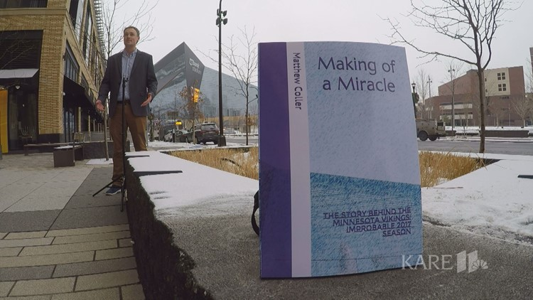 Coller discusses new book, 'Making of a Miracle' about 2017 Vikings season