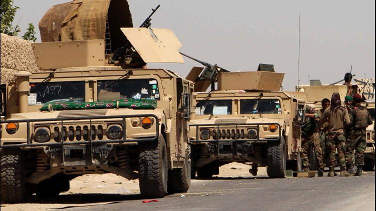 Afghanistan stock patrol image