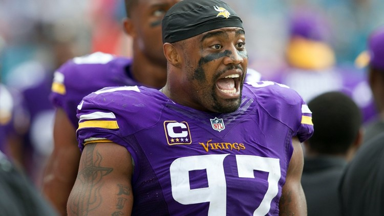 Everson Griffen in hospital following hotel incident