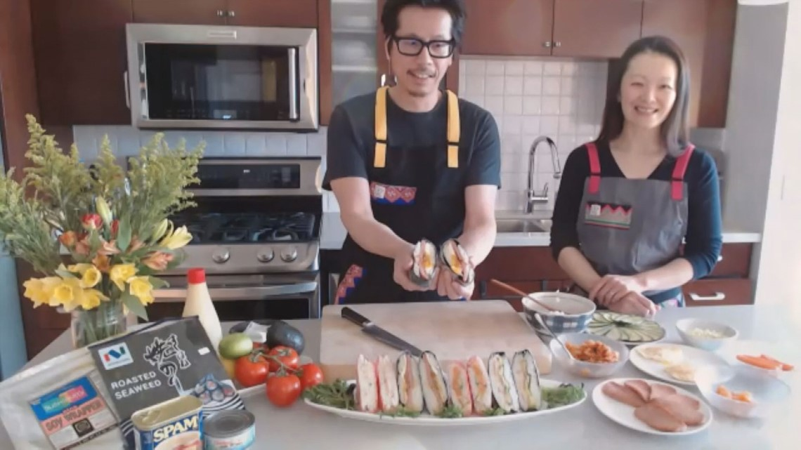 KARE in the Kitchen: Japanese Rice Sandwiches
