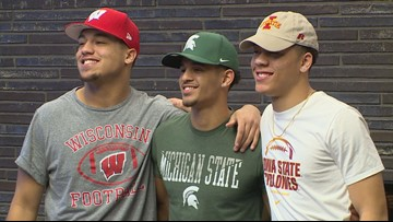 Trio signs letters of intent at Minnehaha Academy