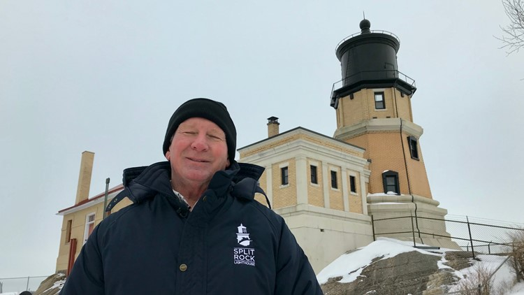 Lee Radzak, the keeper of Split Rock Lighthouse