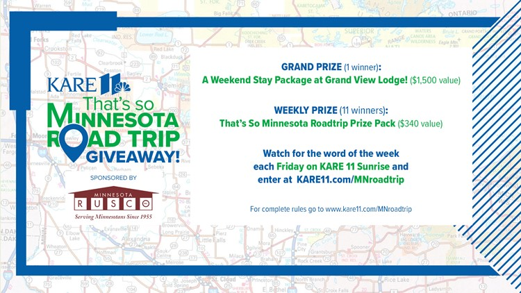 Contest Closed: That's So Minnesota Road Trip Giveaway!