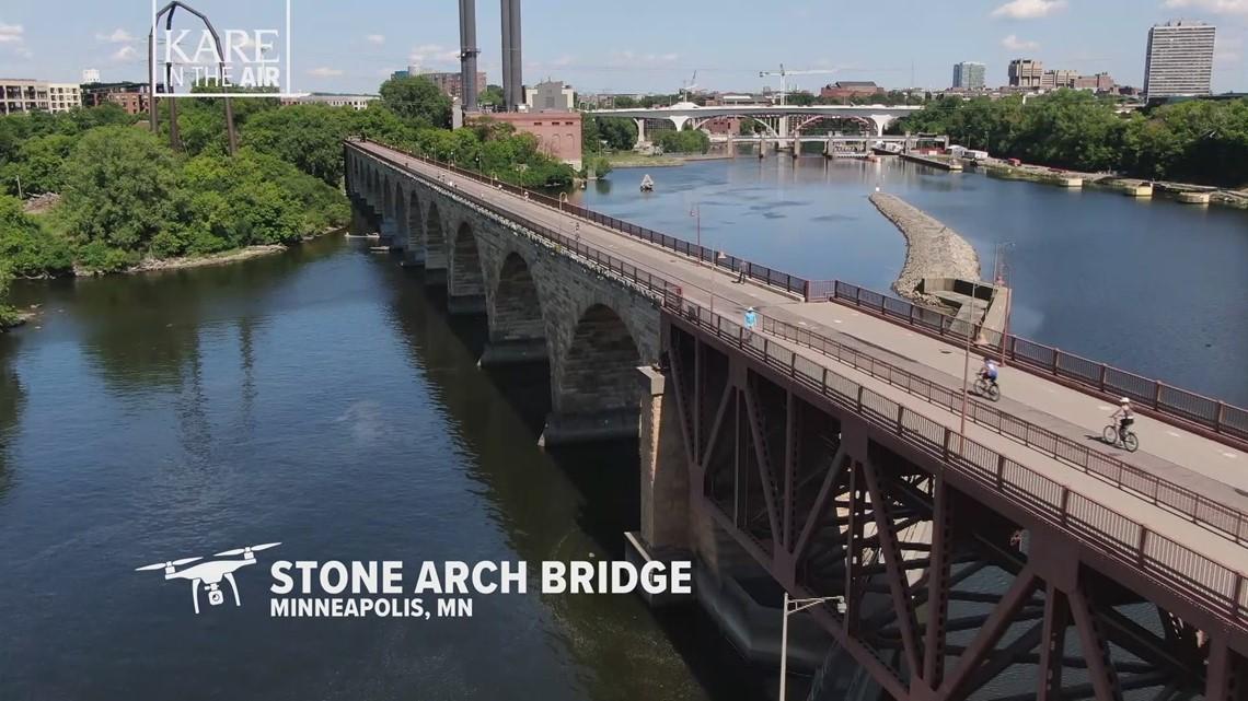 KARE in the Air: Stone Arch Bridge