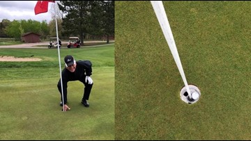 Blaine man waits 83 years for first hole-in-one