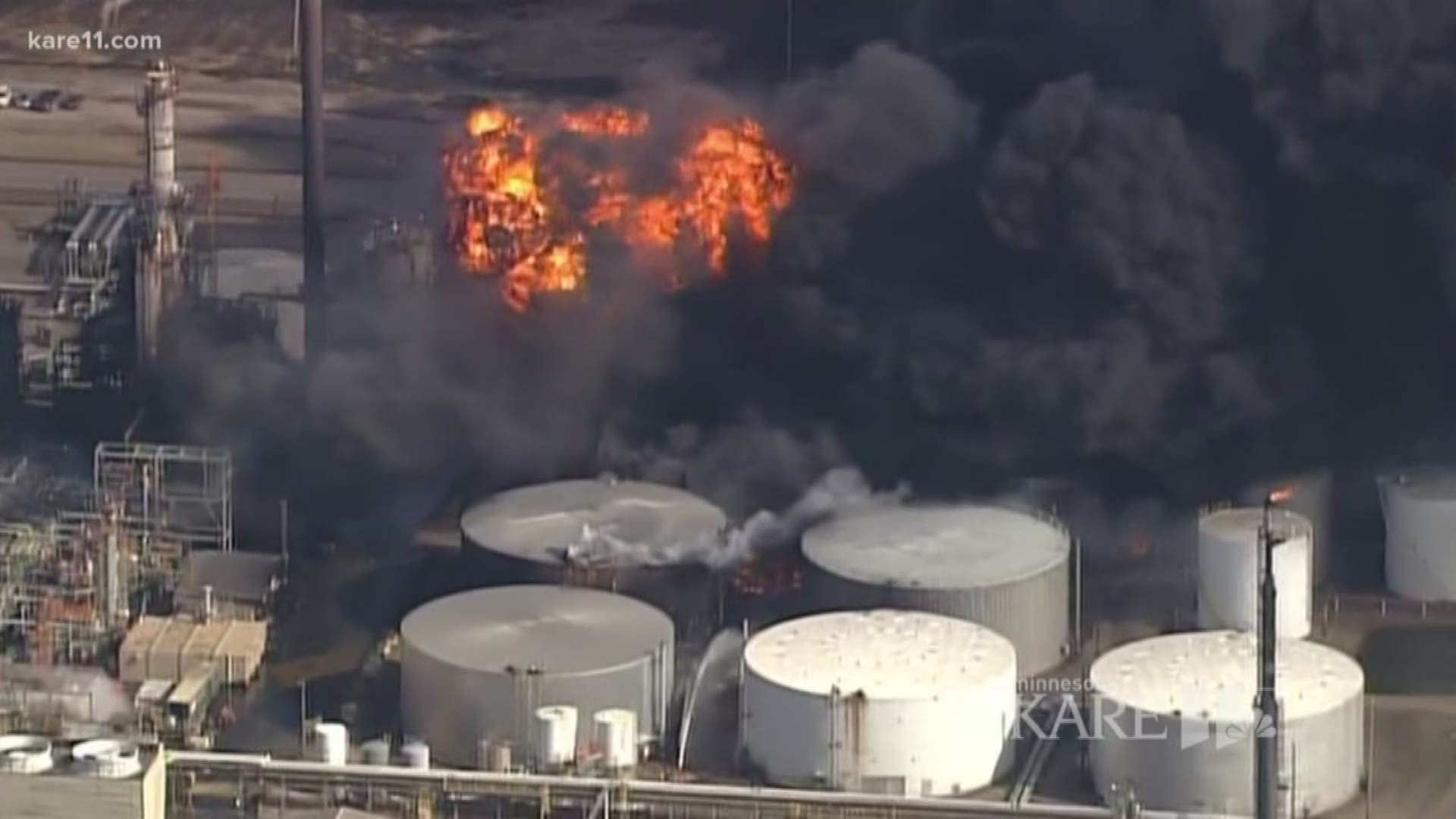 Verify  Will The Refinery Explosion Lead To Higher Gas