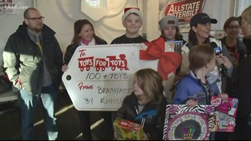 Toys For Tots 9 am 12-15-18