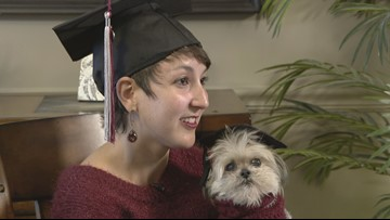 Minnesota woman's journey to graduation after 140 surgeries on brain