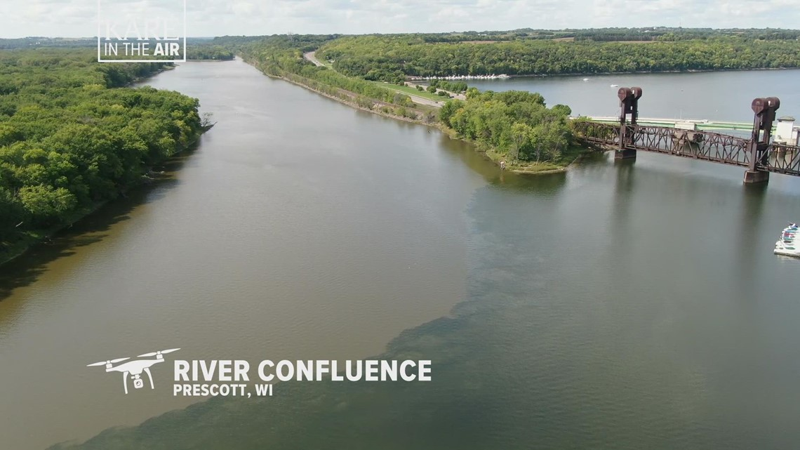 KARE in the Air: Mississippi River meets the St. Croix