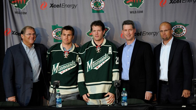 Wild to buy out contracts of Parise, Suter