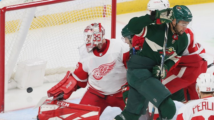 Staal Zuccarello Lead Wild Past Red Wings Kare11 Com