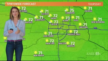 Midday weather 6-13-2019